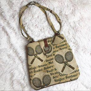 Vintage 1998 unbranded tennis sports purse bag